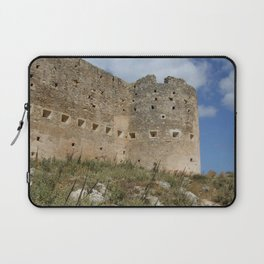 Mediterranean Fort Castle Laptop Sleeve