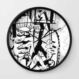 Gentleman - b&w Wall Clock