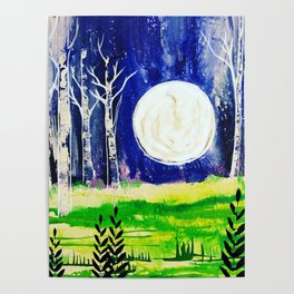 Serene Night Poster