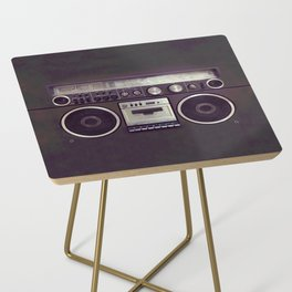 Retro Boombox Side Table