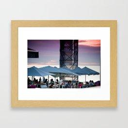 La centrale, Hossegor, France Framed Art Print