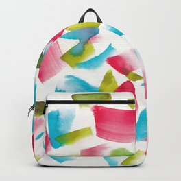 180719 Koh-I-Noor Watercolour Abstract 17| Watercolor Brush Strokes Backpack