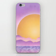 Sunset - purple variation iPhone & iPod Skin