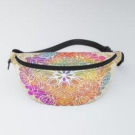 Beautiful Colorful Bohemian Mandala Pattern Fanny Pack