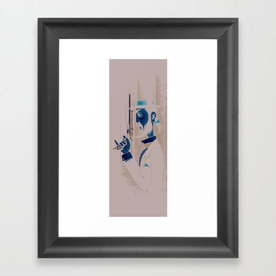 Pistols At Dawn: Mr Colebrook Framed Art Print