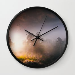 Cleansing Wall Clock