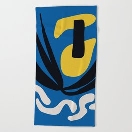 Matissian Couple Beach Towel