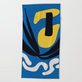 Matissian Couple Beach Towel