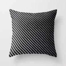 Carbon Fiber Throw Pillow