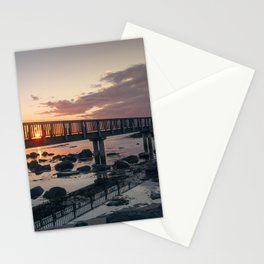 Bridge at Sunset Stationery Cards