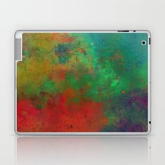 Lose Yourself In Colour (Abstract, textured painting) Laptop & iPad Skin