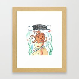 Maude's Choice Framed Art Print