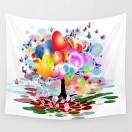 Frühlingstraum Wall Tapestry