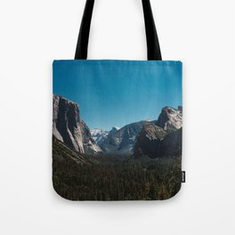 Tunnel View, Yosemite National Park II Tote Bag