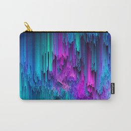 Neon Drifting - Pixel Art Carry-All Pouch