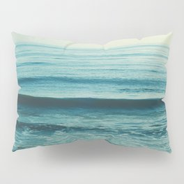 beach waves. Somewhere Pillow Sham