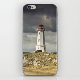 Louisbourg Lighthouse iPhone Skin