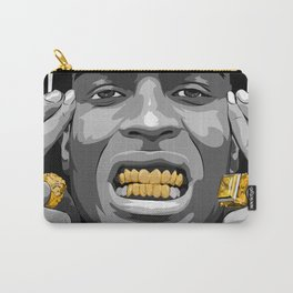 ASAP ROCKY Gold/GRILLz ! Carry-All Pouch