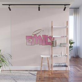 Emily Pink Baddie  Wall Mural