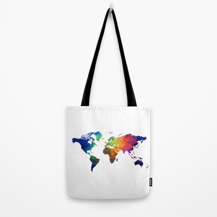 colour map 4 Tote Bag