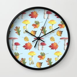 Sweet Botanical Wall Clock