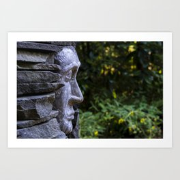 the old that is strong does not wither  Art Print