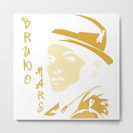Bruno Marss Hat Metal Print