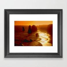 Australian Oceans Framed Art Print