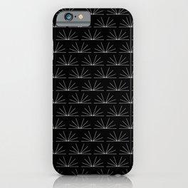 Boho Pattern 18 Bw iPhone Case