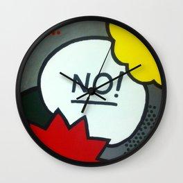 No! Wall Clock