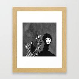 Llegamos Framed Art Print