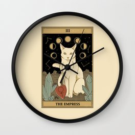 The Empress Wall Clock