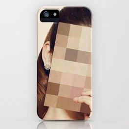 Pixel Girl iPhone Case