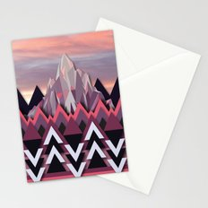 Night Mountains No. 8 Stationery Cards