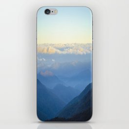 Clouds at eye level  iPhone Skin