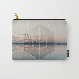 Tranquil Landscape Geometry Carry-All Pouch