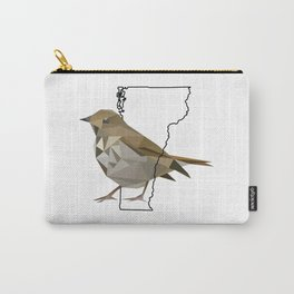 Vermont – Hermit Thrush Carry-All Pouch