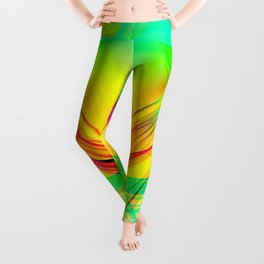 Colorful Abstract Leggings