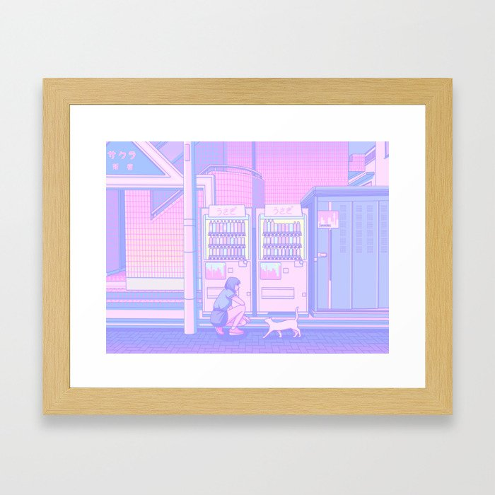 Vending Machines Framed Art Print