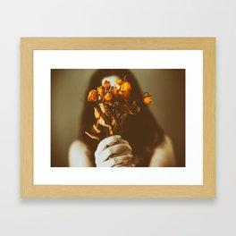 Sin flores para ti II Framed Art Print