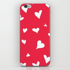 apparently, I'm the queen of hearts iPhone & iPod Skin