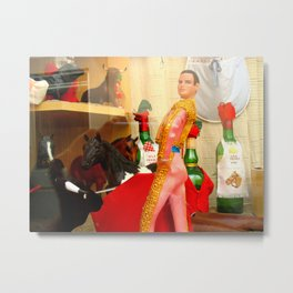 BULLFIGHTER Metal Print