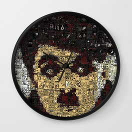 A Cheeky Silent Chap Wall Clock