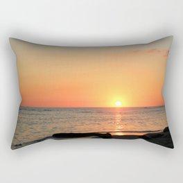 Dominican Sunset Rectangular Pillow