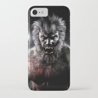 werewolf iPhone & iPod Cases featuring Werewolf by Joe Roberts