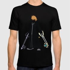 Roxas SMALL Black Mens Fitted Tee