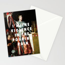Jean Auguste Dominique Ingres, Joan of Arc at the Coronation of Charles VII (1854) / Halsey, Hurrica Stationery Cards