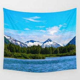 Portage Valley Summer - I Wall Tapestry