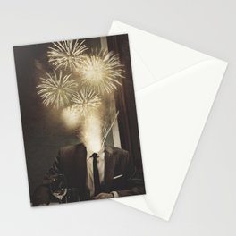 Lovely Head - Fireworks Stationery Cards