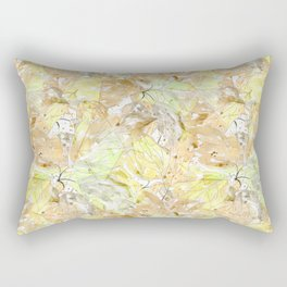 Early autumn in watercolor. Rectangular Pillow